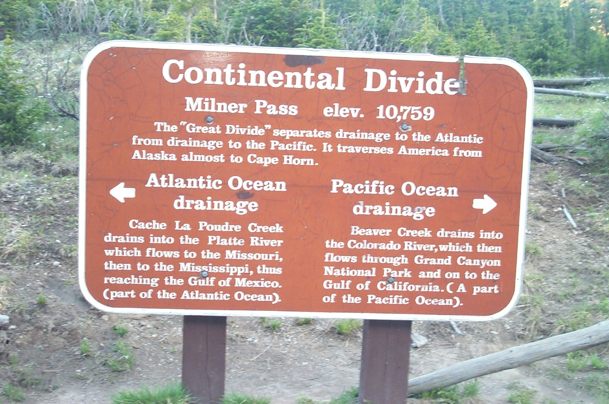 Image of Continental Divide